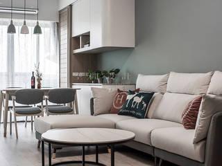 東妮建設 │ 寓幸福 SING萬寶隆空間設計 客廳