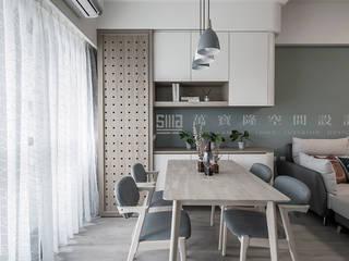 東妮建設 │ 寓幸福 SING萬寶隆空間設計 餐廳