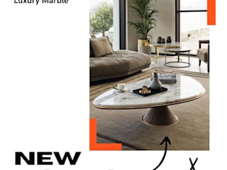 Stonesmiths - Redefining Stoneage Living roomSide tables & trays Stone White