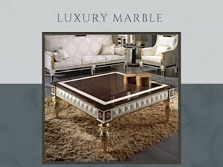 Stonesmiths - Redefining Stoneage Living roomSide tables & trays Stone Brown