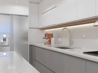 Proyecto M7 Diaf design Cocinas equipadas Blanco