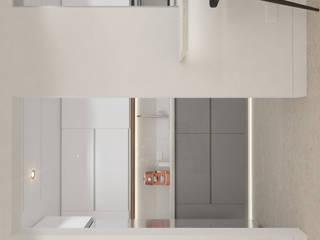 Proyecto M7 Diaf design Cocinas pequeñas Blanco