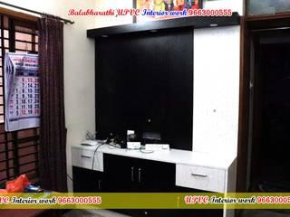 balabharathi pvc interior design リビングルームTV台&キャビネット プラスティック 木目調