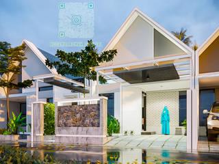 nggambaromah Single family home Bricks Turquoise