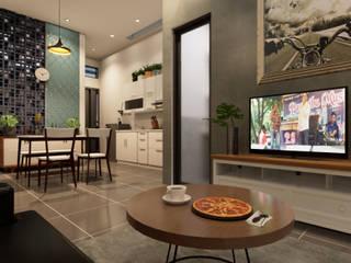 nggambaromah Living room Bricks