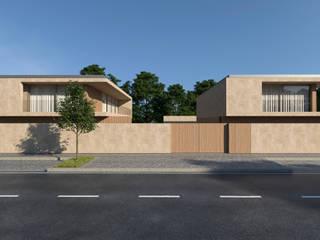 LOTEAMENTO EM MACIEIRA DE SARNES Salomé Ventura Arquitecta Casas unifamilares