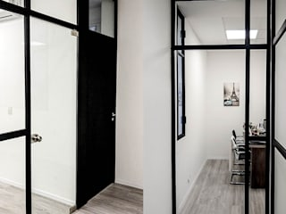 D4-Arquitectos Study/office Wood White