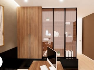 Areabranca Modern Study Room and Home Office