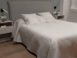 DECORACIÓN DORMITORIO PRINCIPAL BORONIA HOME Dormitorios de estilo moderno Tablero DM Blanco