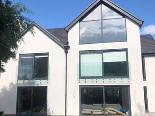 Juliet balcony in Swansea Origin Architectural Balcony Glass Transparent