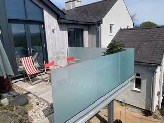 Glass Balustrade in Surrey Origin Architectural Balcony Glass Transparent