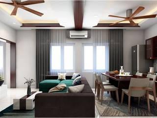 Monnaie Interiors Pvt Ltd ВітальняАксесуари та прикраси Дерево Дерев'яні