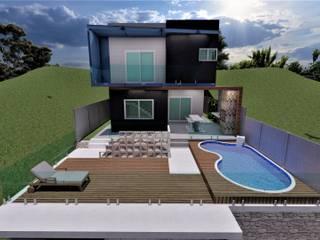 AP Arquitetura Ecoeficiente Prefabricated home