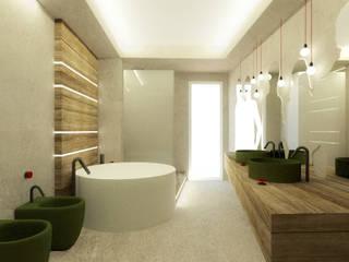 Casa GCR Laboratorio di Progettazione Claudio Criscione Design Bagno moderno