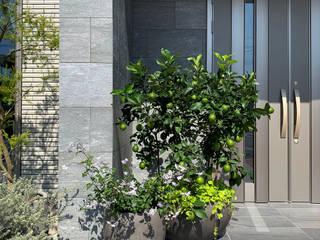(有)ハートランド Modern corridor, hallway & stairs