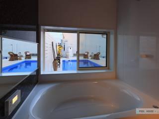 富津のプールハウス PROSPERDESIGN ARCHITECT /プロスパーデザイン 北欧スタイルの お風呂・バスルーム