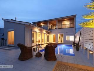 富津のプールハウス PROSPERDESIGN ARCHITECT /プロスパーデザイン 家庭用プール