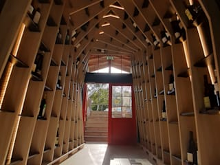 Volo Vinis Modern Home Wine Cellar Wood effect