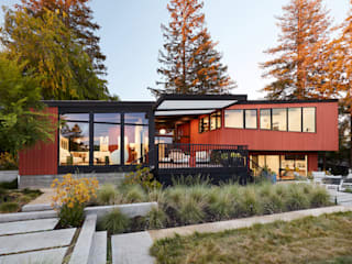 Stanford Mid-Century Modern Remodel Addition Klopf Architecture Single family home