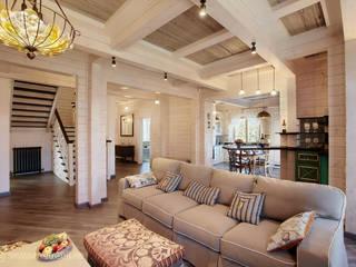 Вира-АртСтрой Country style living room