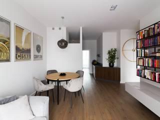 IDEALS . Marta Jaślan Interiors Sala da pranzo moderna