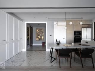 禾廊室內設計 Corredores, halls e escadas clássicos