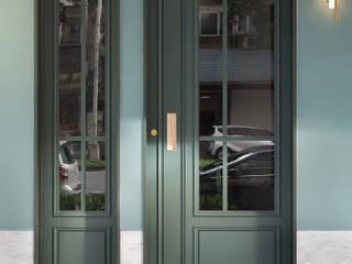 禾廊室內設計 Escritório e loja