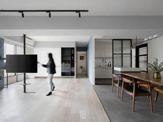 禾廊室內設計 Corredores, halls e escadas escandinavos