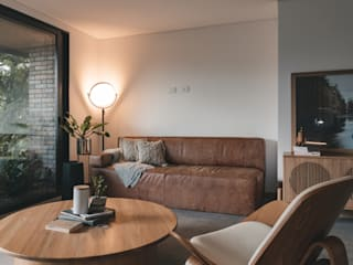 Adrede Arquitectura Industrial style living room Wood Wood effect