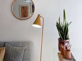Rafaela Fraga Brás Design de Interiores & Homestyling Study/office Glass Grey