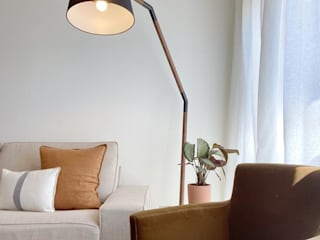 Rafaela Fraga Brás Design de Interiores & Homestyling Living room Amber/Gold