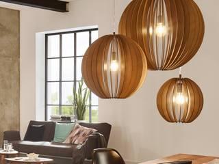 Holzleuchten - Natürlichkeit im Haus Skapetze Lichtmacher WohnzimmerBeleuchtung