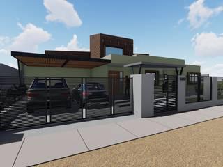 Vivienda Unifamiliar 165 m2 Nave + Arquitectura & Modelación Paramétrica Casas unifamiliares