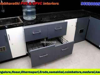 balabharathi pvc interior design KitchenCabinets & shelves Plastic Grey