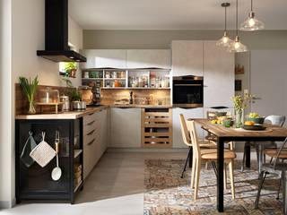 Diese Küche haucht Holz neues Leben ein Schmidt Küchen Einbauküche