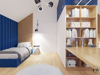 Klaudia Tworo Projektowanie Wnętrz Sp. z o.o. Teen bedroom