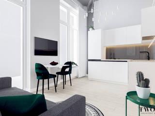 Klaudia Tworo Projektowanie Wnętrz Sp. z o.o. Modern dining room