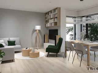 Klaudia Tworo Projektowanie Wnętrz Sp. z o.o. Living room