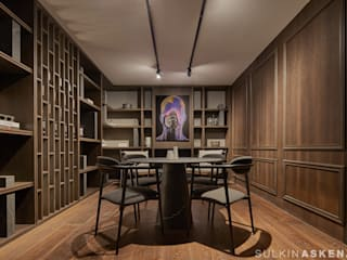 Sulkin Askenazi Modern study/office
