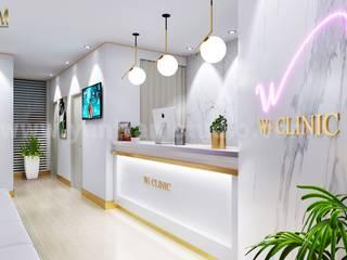 Yantram Architectural Design Studio Corporation Ruang Studi/Kantor Klasik