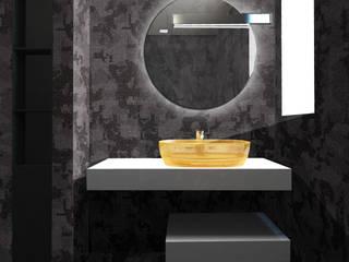 Piccolo loft a Taormina beatrice pierallini Bagno moderno