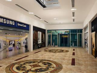 Gurooji Designs Espaces commerciaux modernes