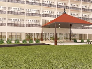 Gurooji Designs Hôtels modernes