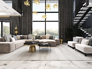 Luksusowe wnętrza domu – cz. 1 Ambience. Interior Design Nowoczesny salon