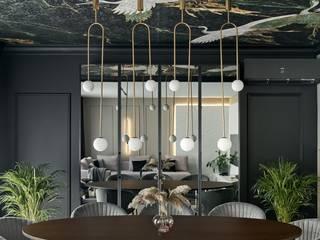 Nowy dom Koniecznych – realizacja. Zdjęcia: Tom Kurek Ambience. Interior Design Nowoczesna jadalnia