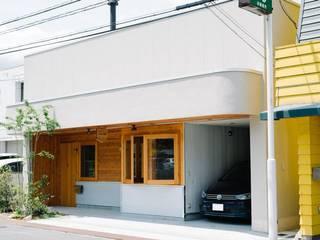 すまい研究室 一級建築士事務所 Окремий будинок Дерево