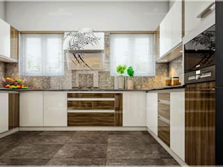 Our most popular interior luxury design styles... Monnaie Interiors Pvt Ltd KitchenKitchen utensils Wood Wood effect
