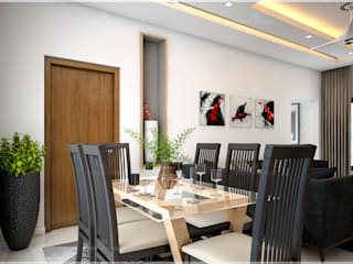 Our most popular interior luxury design styles... Monnaie Interiors Pvt Ltd Dining roomAccessories & decoration Wood Wood effect