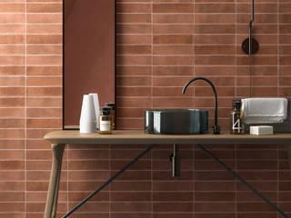 Equipe Ceramicas Scandinavian style bathrooms Tiles Orange