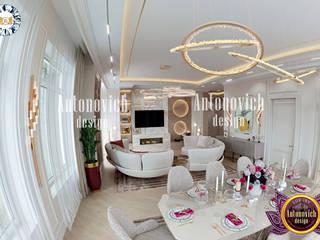 Luxury Antonovich Design モダンデザインの ダイニング